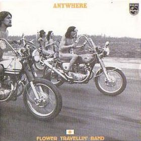 \'Anywhere\' album sleeve
