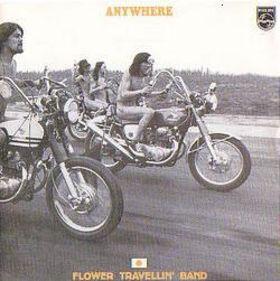 \'Anywhere\' album sleeve