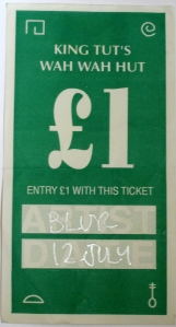 blur ticket