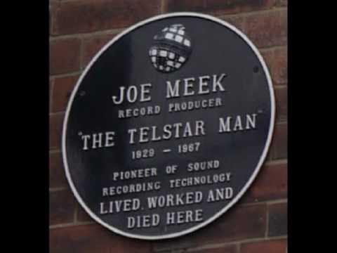 joe meek plaque
