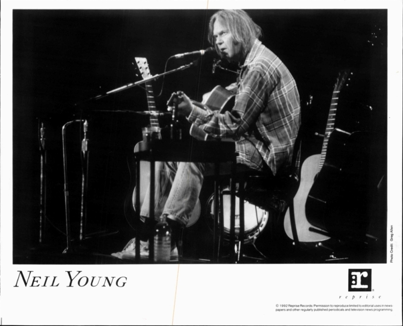 Neil Young reprise promo