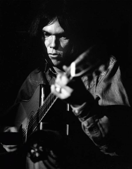 neil young wasted