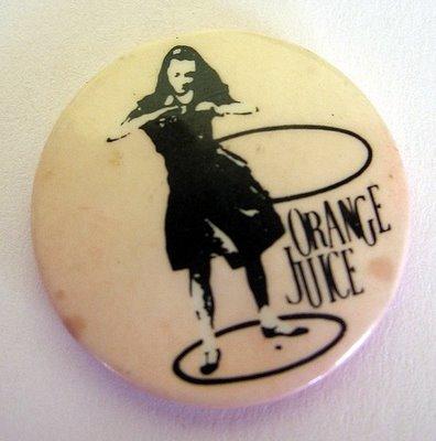 orange juice badge