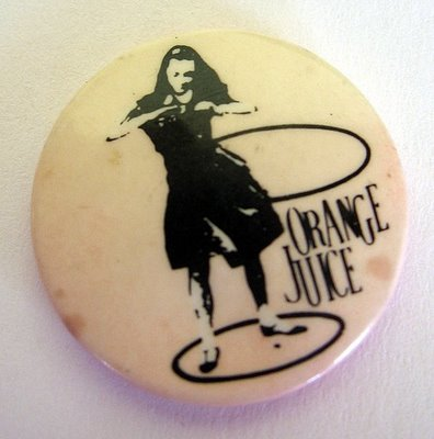 orange juice badge