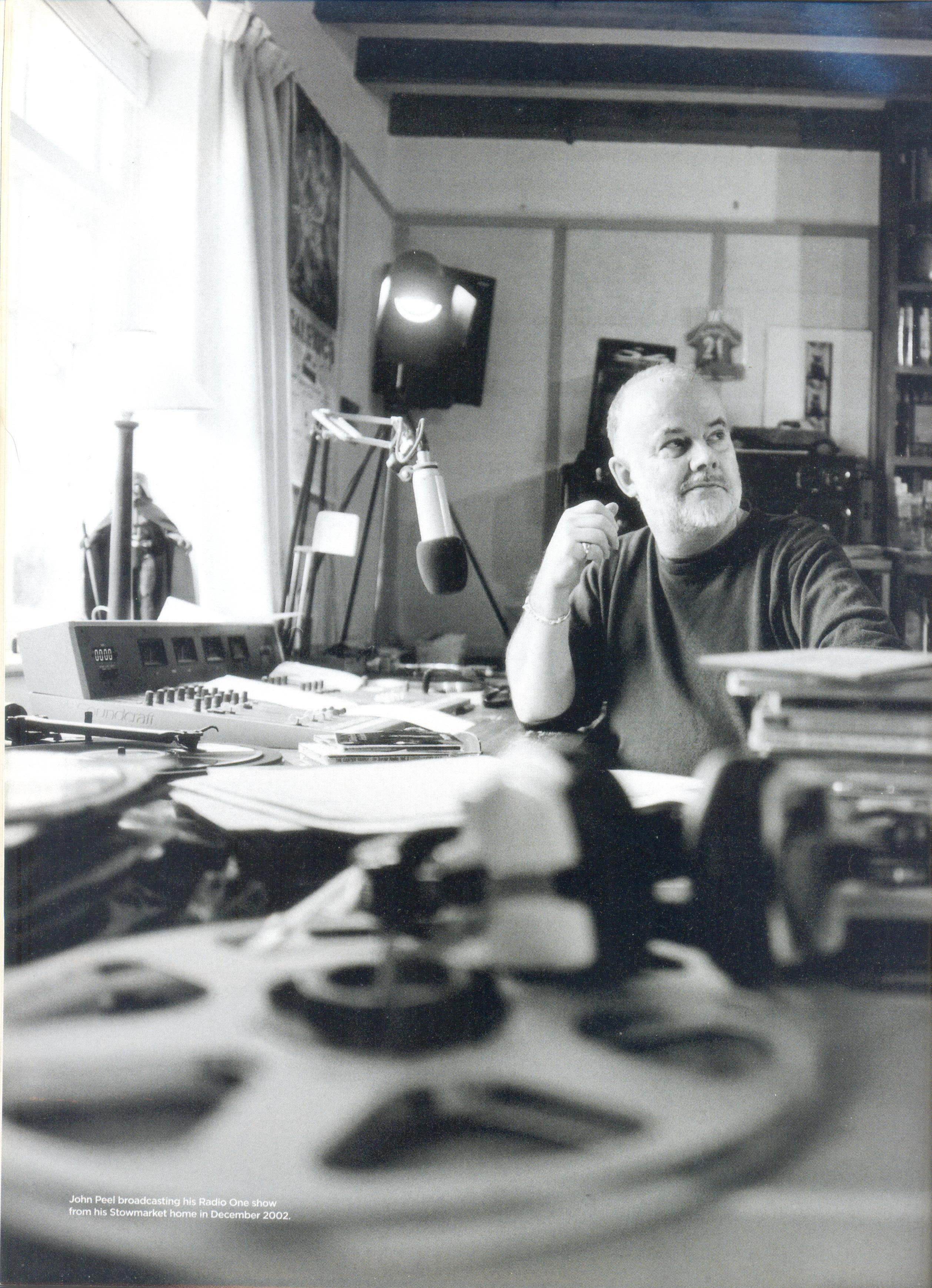 john peel home studio