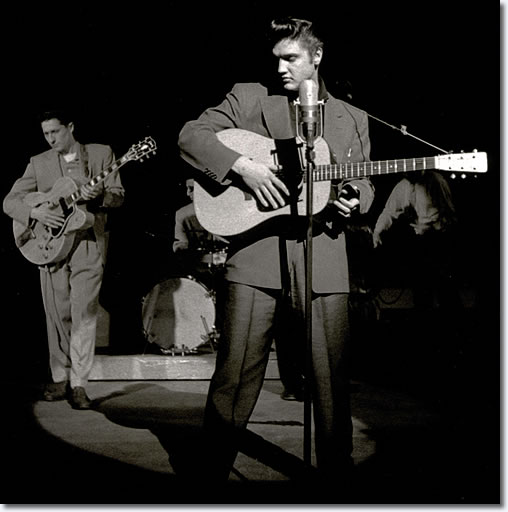 elvis scotty 1950s