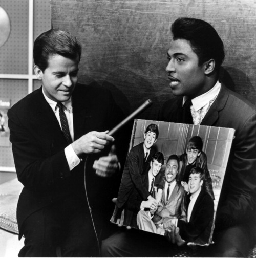 DICK CLARK, LITTLE RICHARD