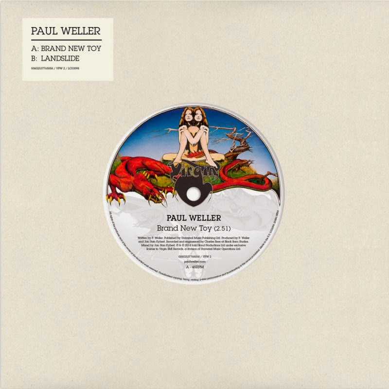 Paul Weller Record Store Day 2014 - Brand New Toy