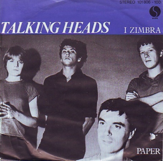 talking heads i zimbra