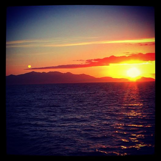 arran sunset