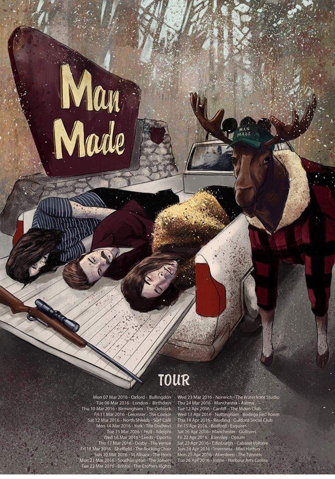 man made tour poster
