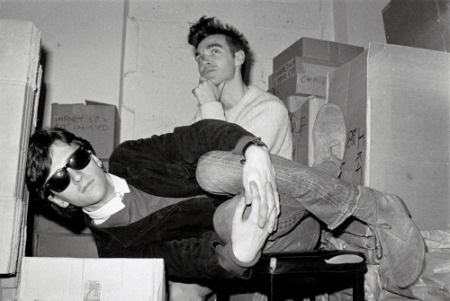 smiths morrissey marr rough trade store room